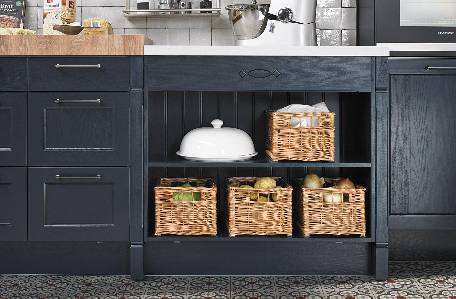 bristol velvet blue | Crowthorne Kitchens