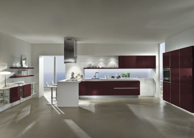 4030 gl wine red high gloss lacquer