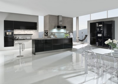 5090 black design glass