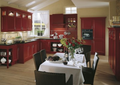 bristol crimson red